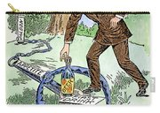 Cartoon: Temperance, C1915 Carry-all Pouch
