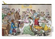Cartoon: Vaccination, 1802 Carry-all Pouch