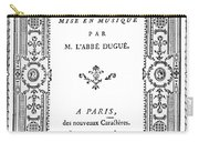 Cartouche, 1765 Carry-all Pouch