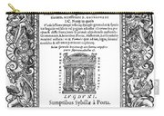 Cartouches, 1588 Carry-all Pouch