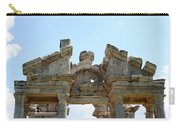 Carved Marble Of The Monumental Gate Carry-all Pouch by Tracey Harrington-Simpson