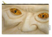Carved Pumpkin Face Carry-all Pouch