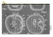 Carved Pumpkin Patent Carry-all Pouch