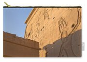 Carved Wall Of The Temple  Philae  Carry-all Pouch