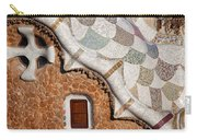 Casa Del Guarda Details In Park Guell Carry-all Pouch