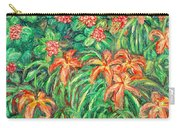 Cascading Day Lilies Carry-all Pouch