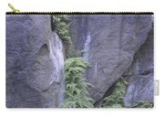 Cascading Fern On Rocks Carry-all Pouch