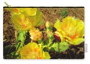 Cascading Prickly Pear Blossoms Carry-all Pouch