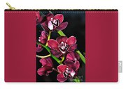 Cascading Red Orchids Carry-all Pouch