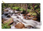 Cascading Rocky Mountain Forest Creek Carry-all Pouch