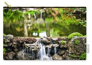 Cascading Waterfall And Pond Carry-all Pouch by Elena Elisseeva