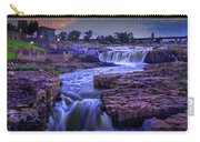 Cascading Waterfalls At Sunset Carry-all Pouch