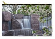 Cascading Waters At The Roosevelt Memorial Carry-all Pouch