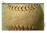 Casey Stengel Baseball Autograph Carry-all Pouch