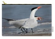 Caspian Tern Giving Fish To Mate Carry-all Pouch