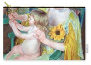 Cassatt's Mother And Child Carry-all Pouch