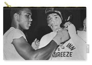 Cassius Clay And Johansson Carry-all Pouch