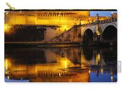 Castel Sant'angelo And The Tiber River Carry-all Pouch