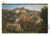 Castel Sant'elmo From Chiaia. Naples Carry-all Pouch