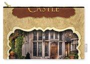 Castle Button Carry-all Pouch