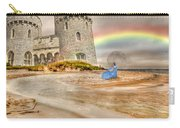 Castle By The Sea Carry-all Pouch