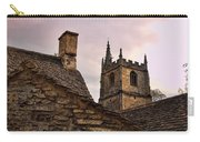 Sunset At Castle Comb Church - Wilshire England Carry-all Pouch