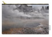 Castle Geyser In Winter Carry-all Pouch