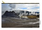 Castle Geyser In Yellowstone National Park Carry-all Pouch