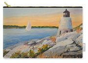Castle Hill Light House Newport Ri Carry-all Pouch
