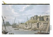 Castle In The Island Of Tortosa, 1805 Carry-all Pouch