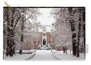 Castle In Winter Dress  Carry-all Pouch