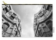 Castle Keyhole In Black And White Carry-all Pouch