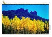 Autumn Castle Rock Aspens Carry-all Pouch