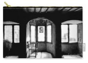 Castle Room With Chair Bw Carry-all Pouch