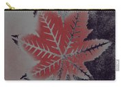 Castor Leaf Carry-all Pouch