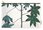 Castor Oil Plant Carry-all Pouch