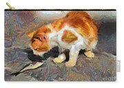 Cat  And Fish Carry-all Pouch