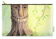 Cat And Great Mother Tree Carry-all Pouch