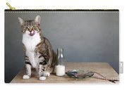 Cat And Herring Carry-all Pouch by Nailia Schwarz