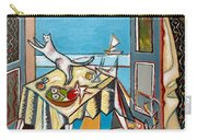 Cat And Sailboat Carry-all Pouch