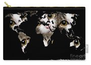 Cat Eyes World Map 2 Carry-all Pouch