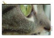 Cat Face Profile Carry-all Pouch