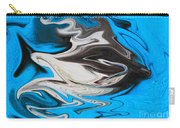 Abstract Cat Fish Carry-all Pouch