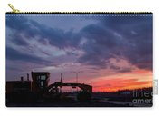 Cat Grader Sunset Silhouette Carry-all Pouch