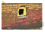 Cat In A Hole In A Wall Carry-all Pouch