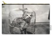 Cat In Cage Carry-all Pouch