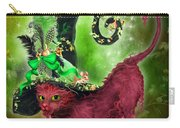 Cat In Fancy Witch Hat 2 Carry-all Pouch