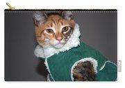 Cat In Patrick's Coat Carry-all Pouch