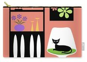 Cat In Pink Room Carry-all Pouch