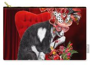 Cat In The Valentine Steam Punk Hat Carry-all Pouch